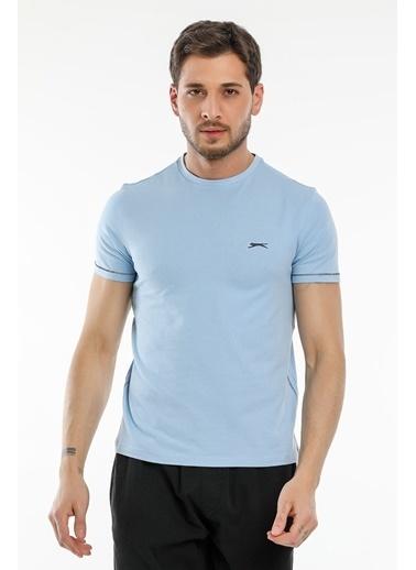 Slazenger Slazenger MOPET Erkek T-Shirt  Mavi
